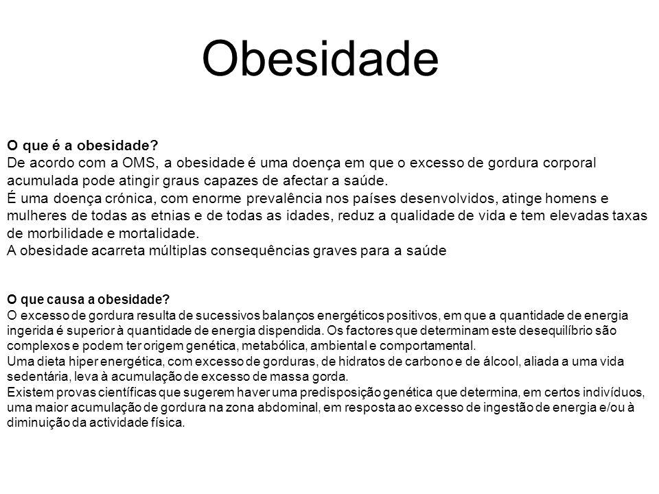 Obesidade O que é a obesidade