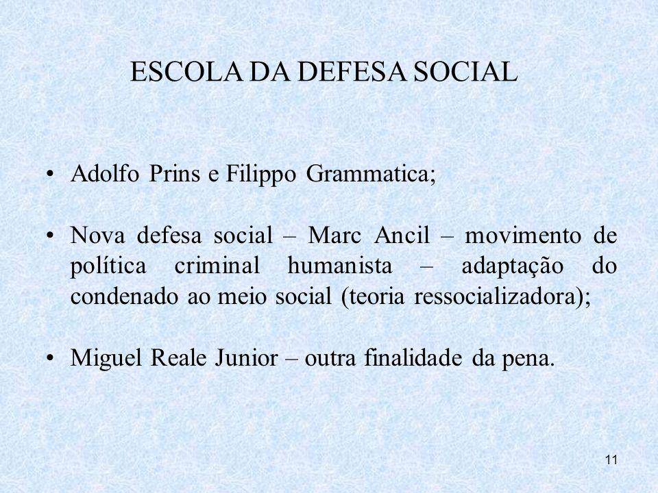ESCOLA DA DEFESA SOCIAL