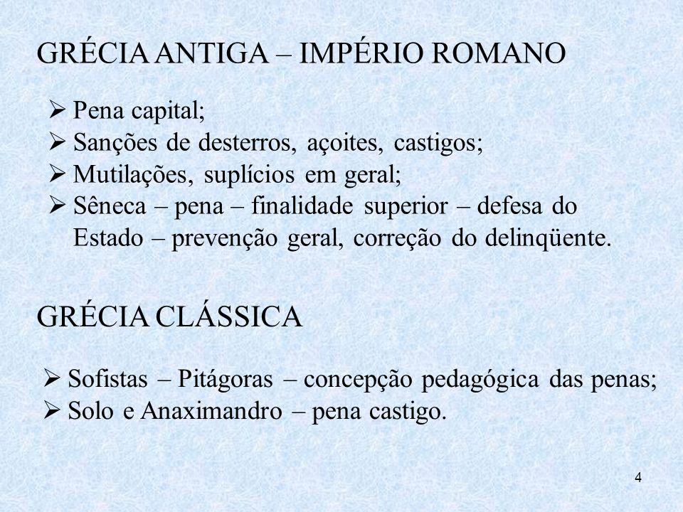 GRÉCIA ANTIGA – IMPÉRIO ROMANO