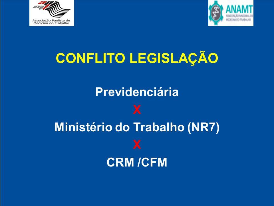 Ministério do Trabalho (NR7)