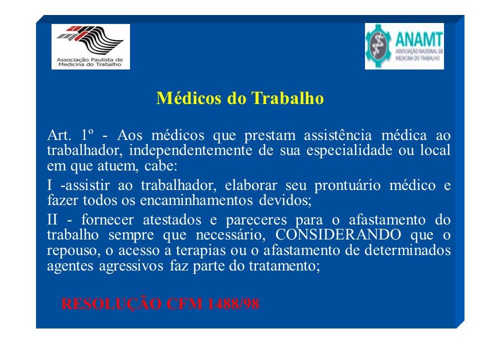 Médicos do Trabalho