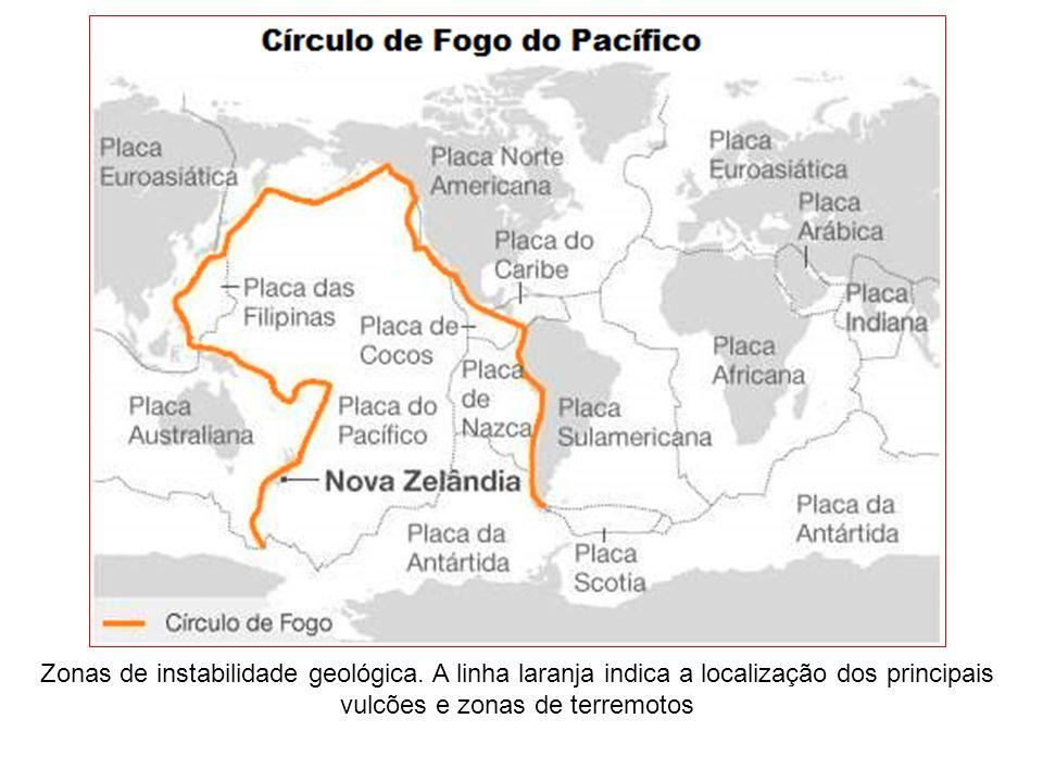 Zonas de instabilidade geológica