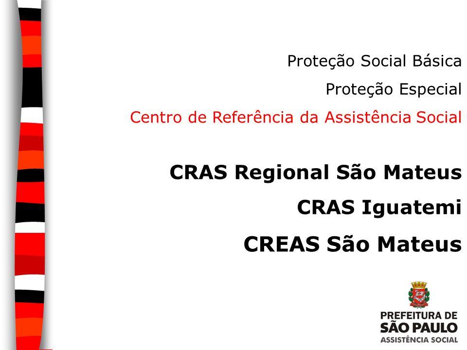 CREAS São Mateus CRAS Regional São Mateus CRAS Iguatemi