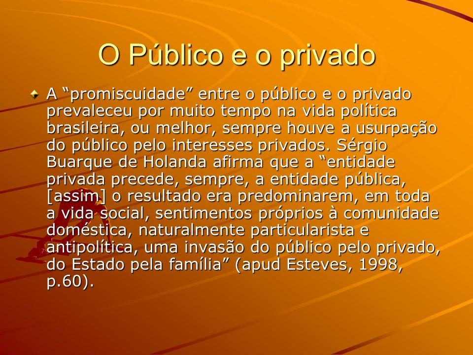 O Público e o privado