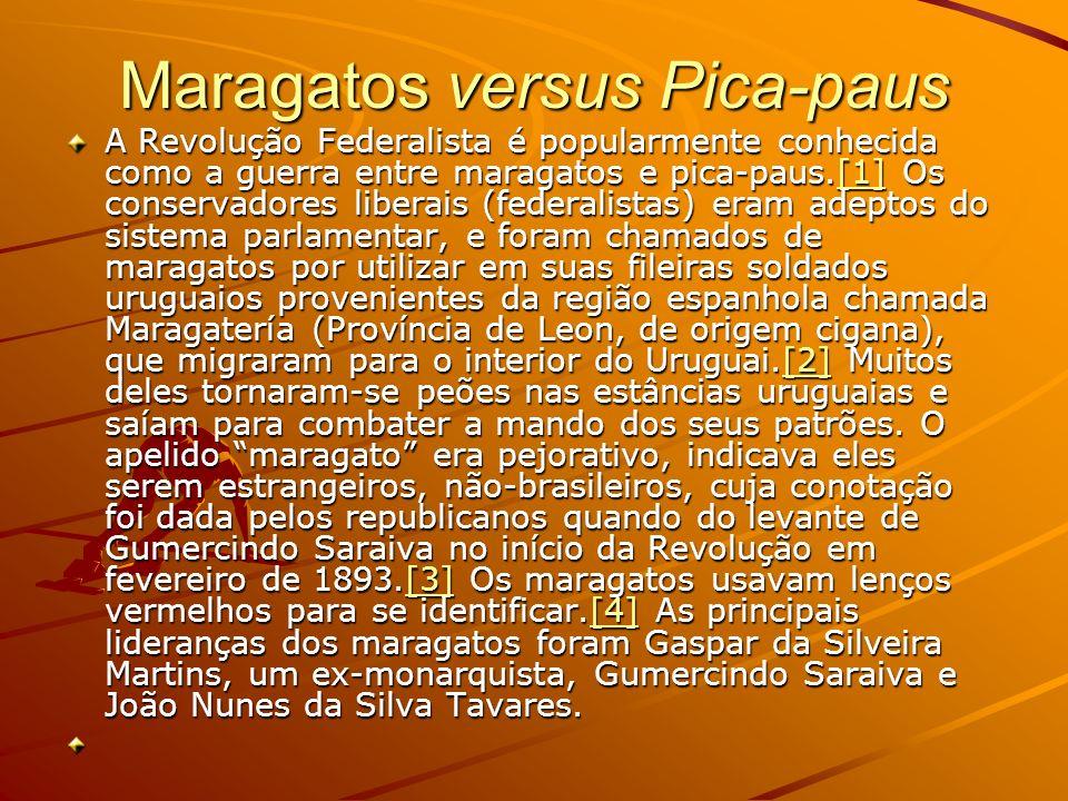 Maragatos versus Pica-paus