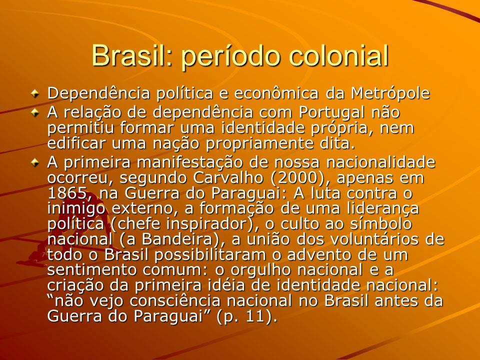 Brasil: período colonial