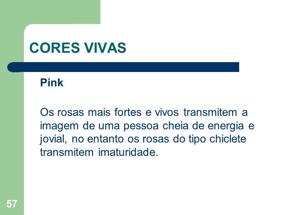 CORES VIVAS Pink.