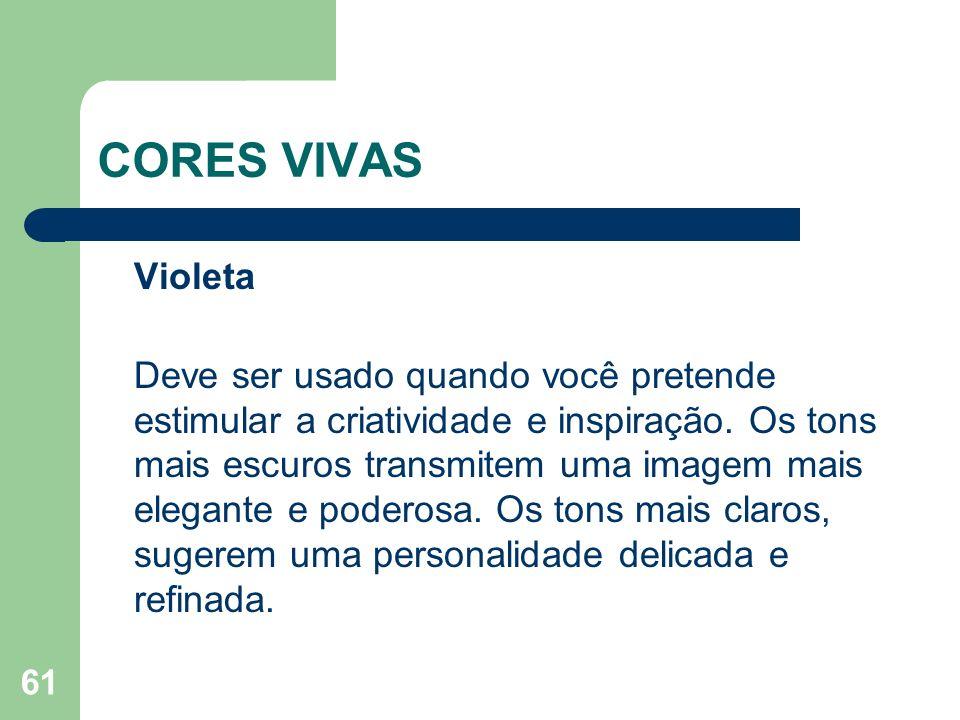 CORES VIVAS Violeta.