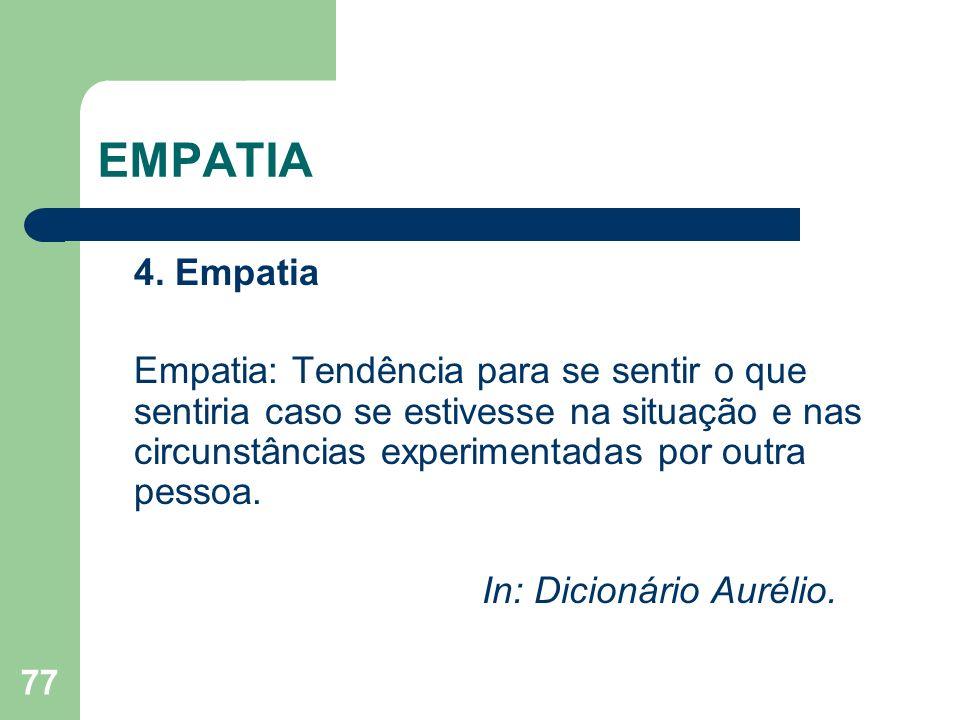 EMPATIA 4. Empatia.