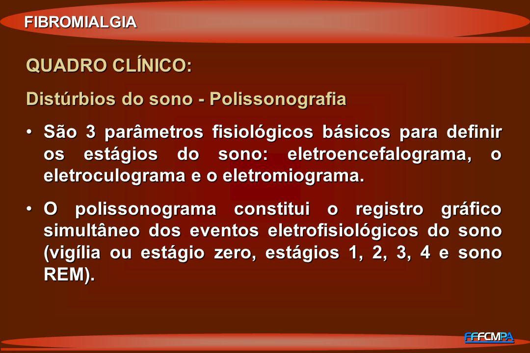 Distúrbios do sono - Polissonografia