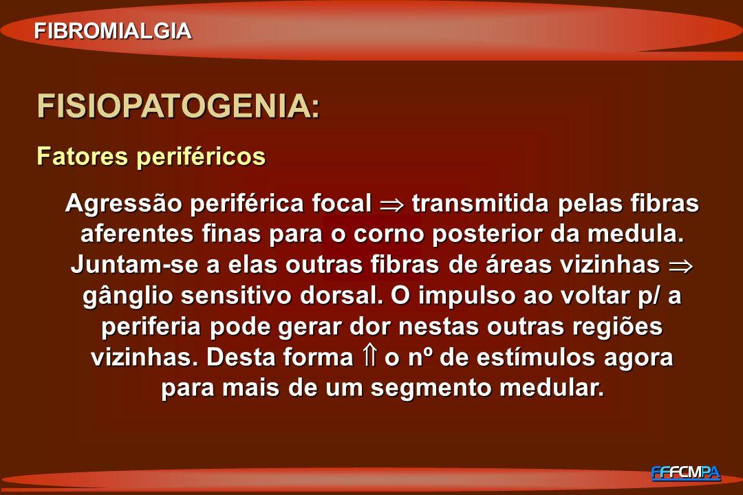FISIOPATOGENIA: Fatores periféricos