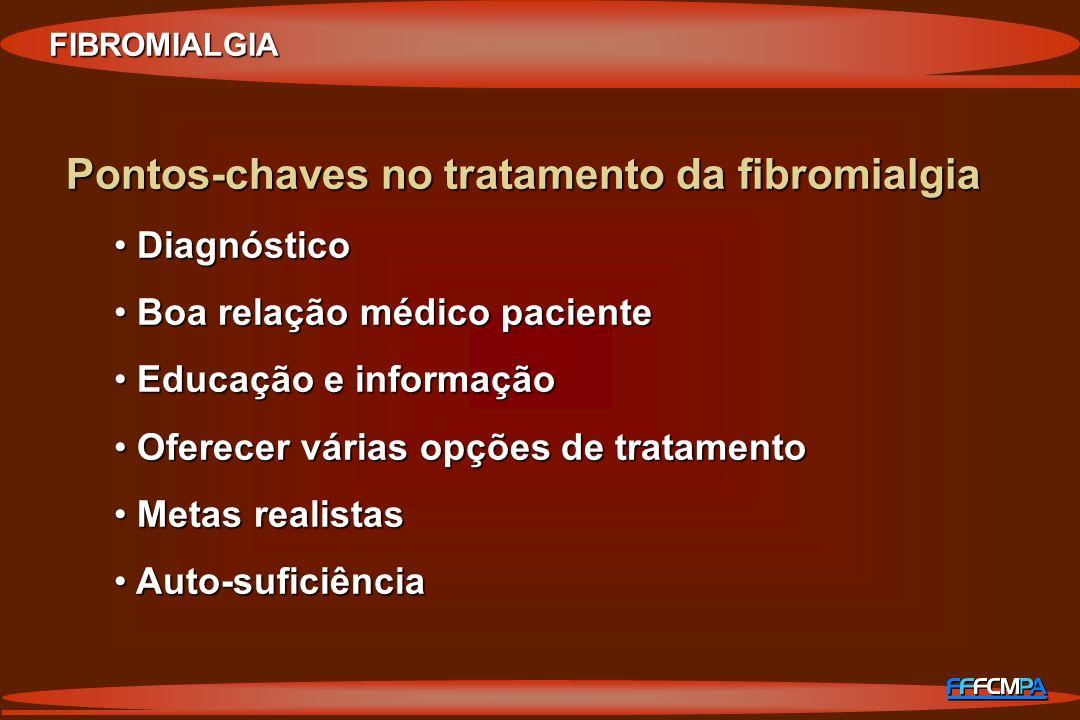 Pontos-chaves no tratamento da fibromialgia