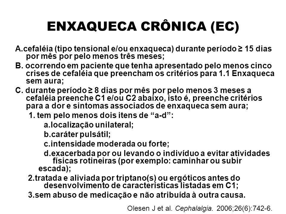 ENXAQUECA CRÔNICA (EC)
