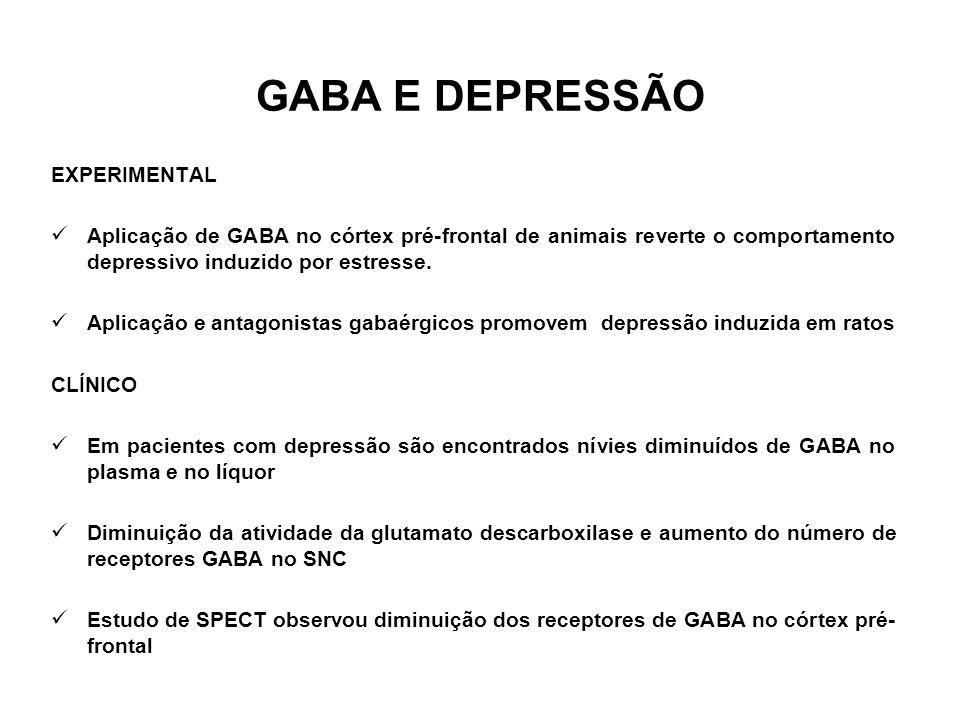 GABA E DEPRESSÃO EXPERIMENTAL