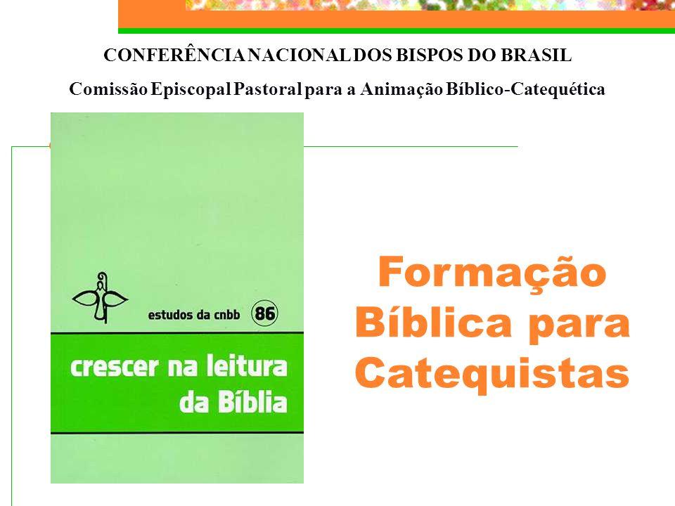 Formação Bíblica para Catequistas