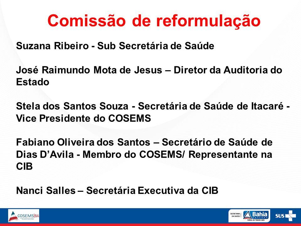 Comissão de reformulação