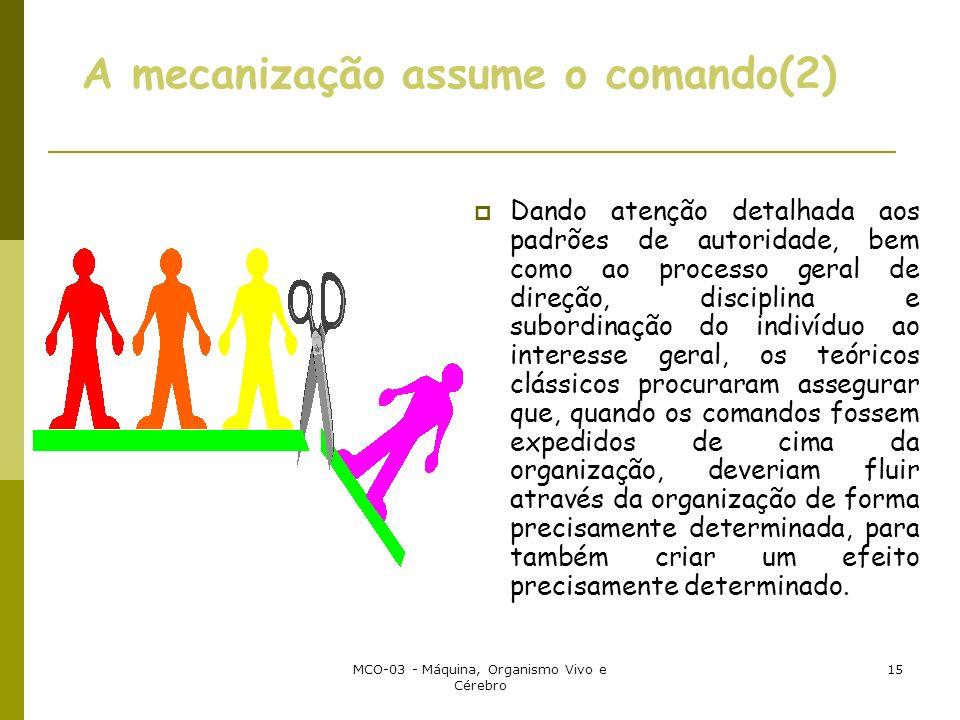 A mecanização assume o comando(2)