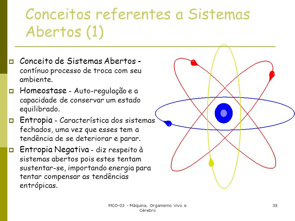 Conceitos referentes a Sistemas Abertos (1)
