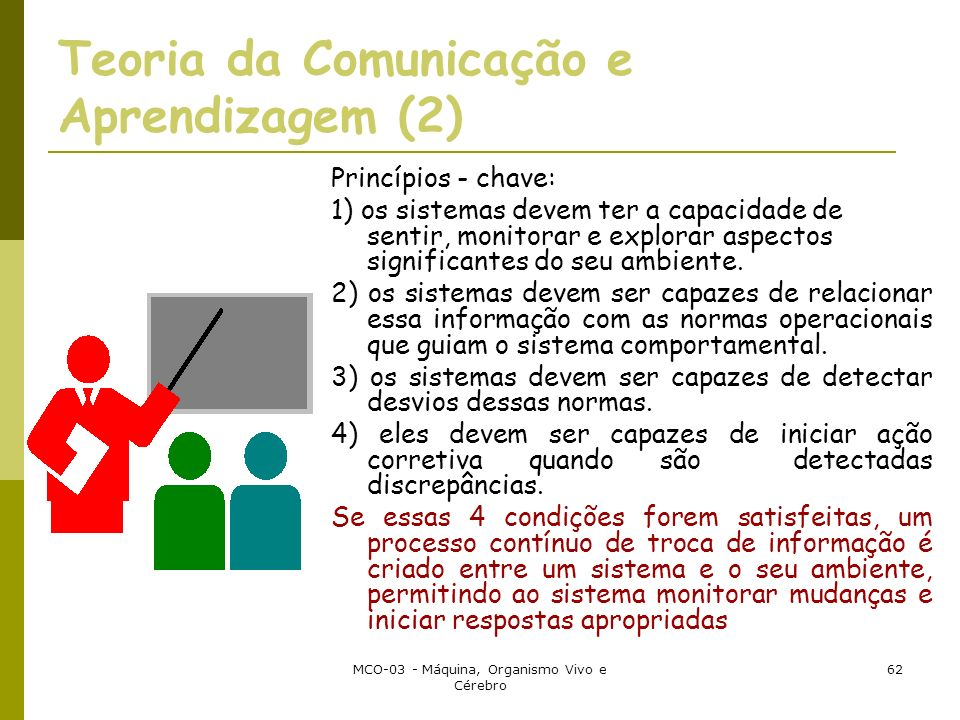 Teoria da Comunicação e Aprendizagem (2)