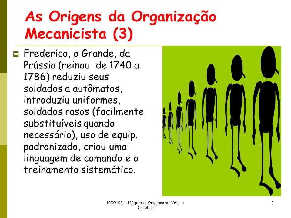 As Origens da Organização Mecanicista (3)
