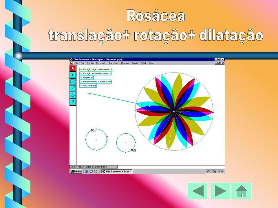translação+ rotação+ dilatação