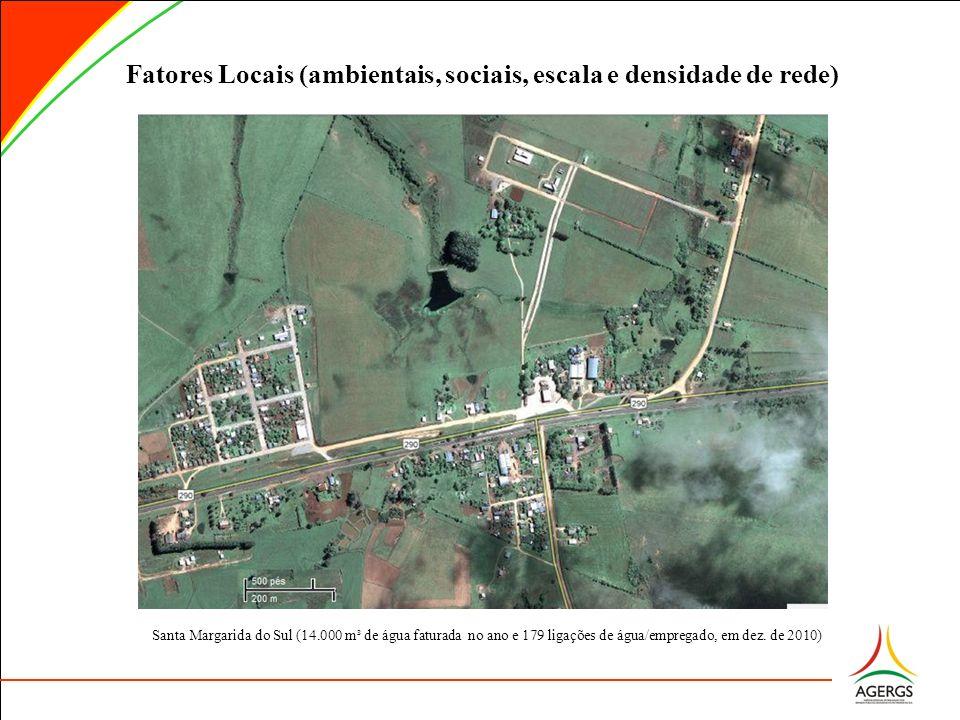 Fatores Locais (ambientais, sociais, escala e densidade de rede)