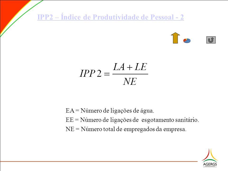 IPP2 – Índice de Produtividade de Pessoal - 2