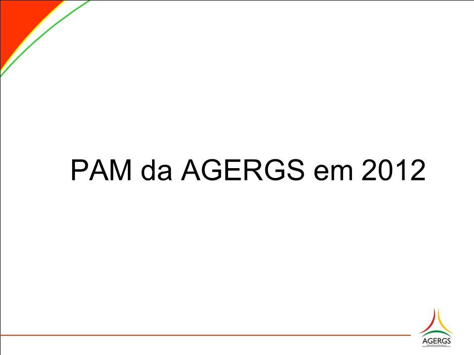 PAM da AGERGS em 2012