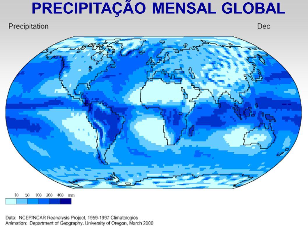 PRECIPITAÇÃO MENSAL GLOBAL