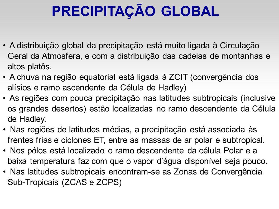 PRECIPITAÇÃO GLOBAL