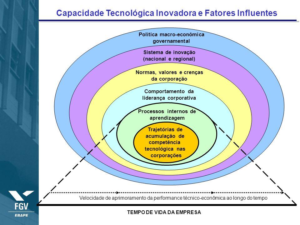 Capacidade Tecnológica Inovadora e Fatores Influentes