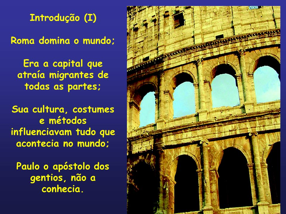 Era a capital que atraía migrantes de todas as partes;