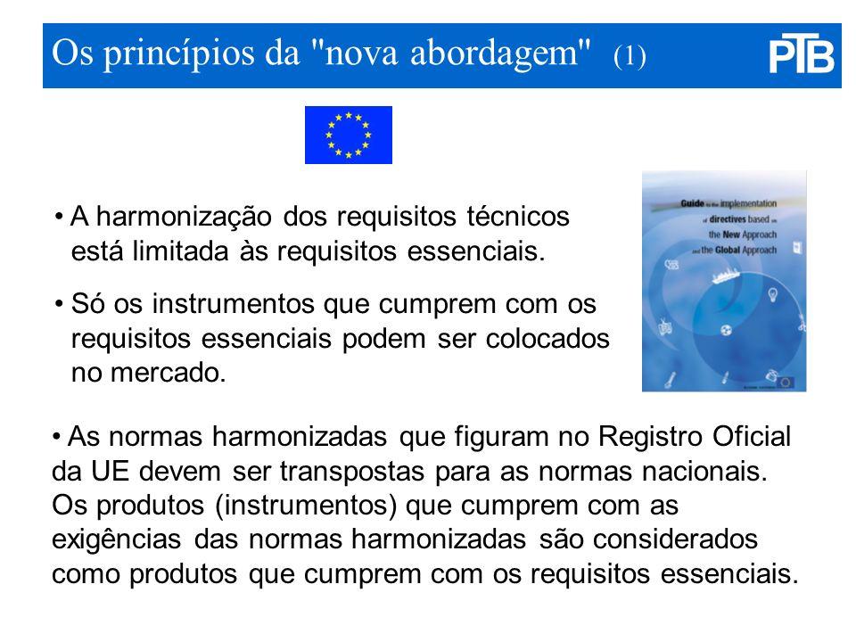 Os princípios da nova abordagem (1)