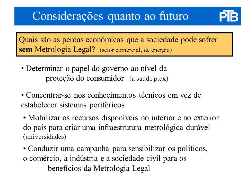 Considerações quanto ao futuro