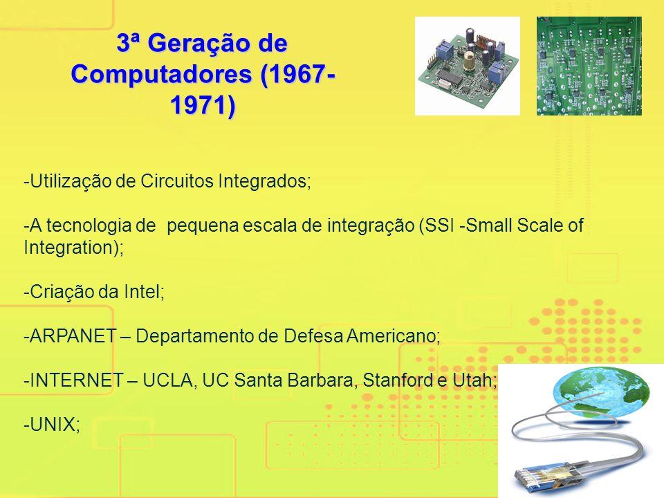 3ª Geração de Computadores (1967-1971)