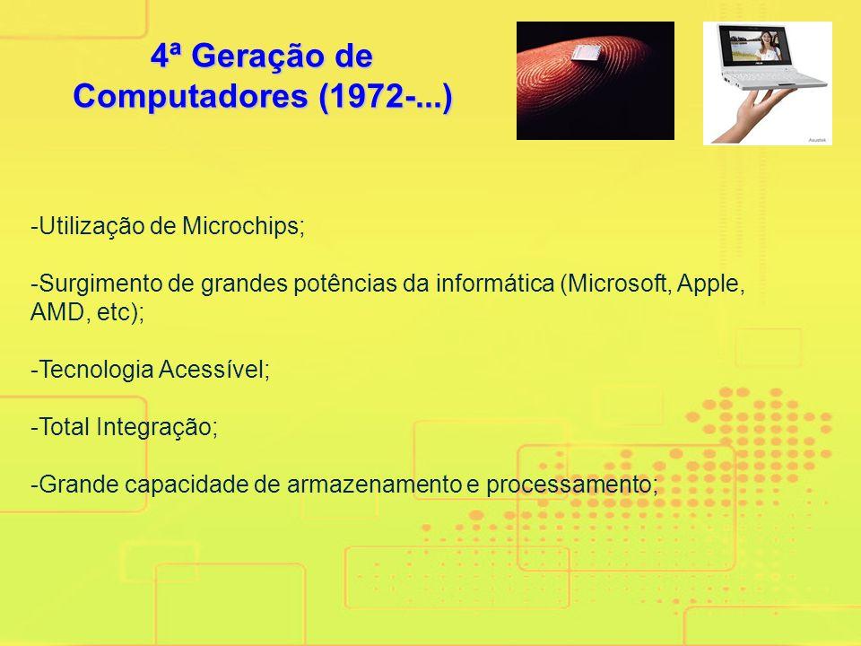 4ª Geração de Computadores (1972-...)