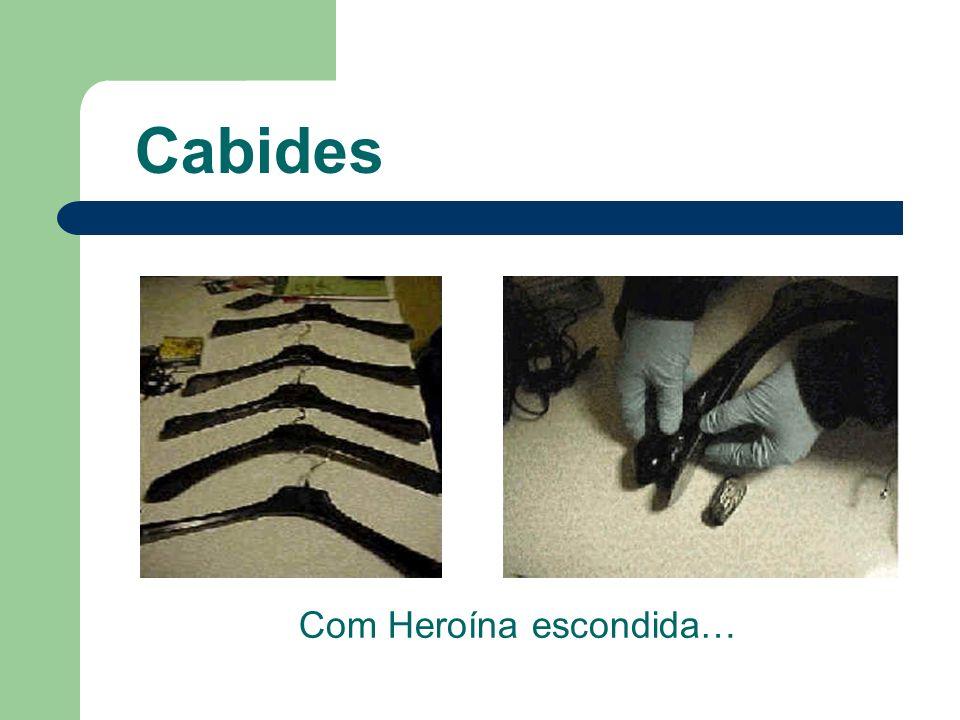 Com Heroína escondida…