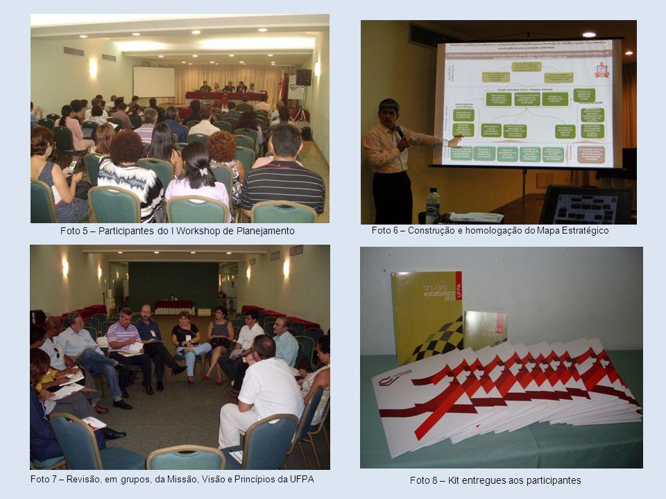 Foto 5 – Participantes do I Workshop de Planejamento