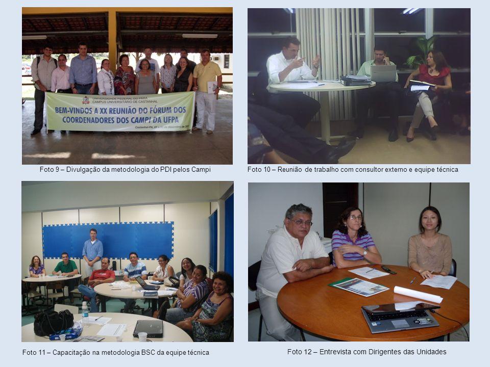 Foto 9 – Divulgação da metodologia do PDI pelos Campi