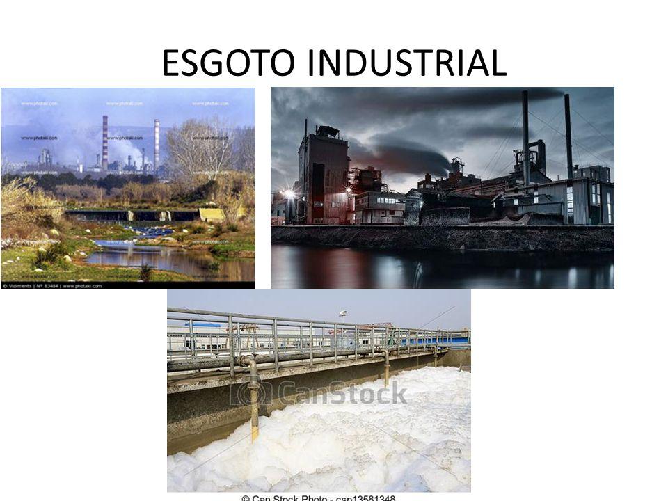ESGOTO INDUSTRIAL
