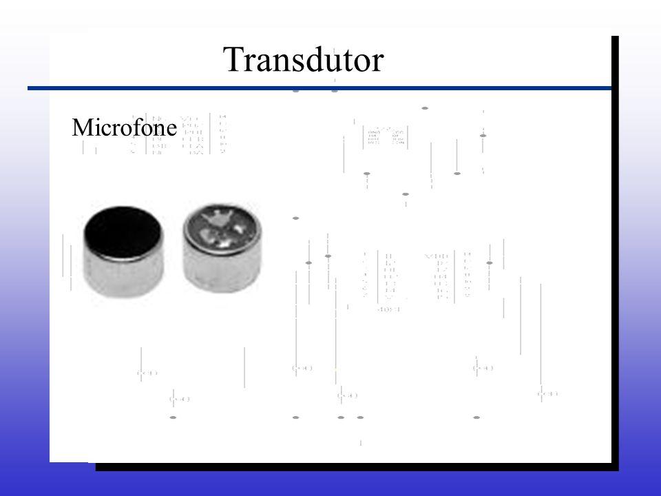 Transdutor Microfone
