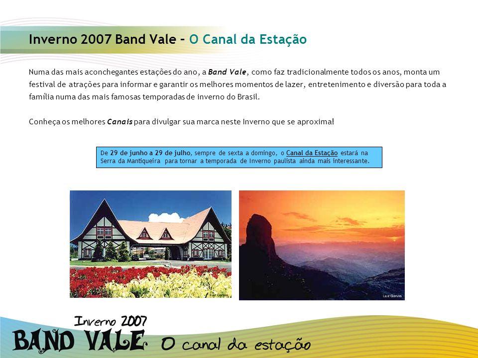 Inverno 2007 Band Vale – O Canal da Estação