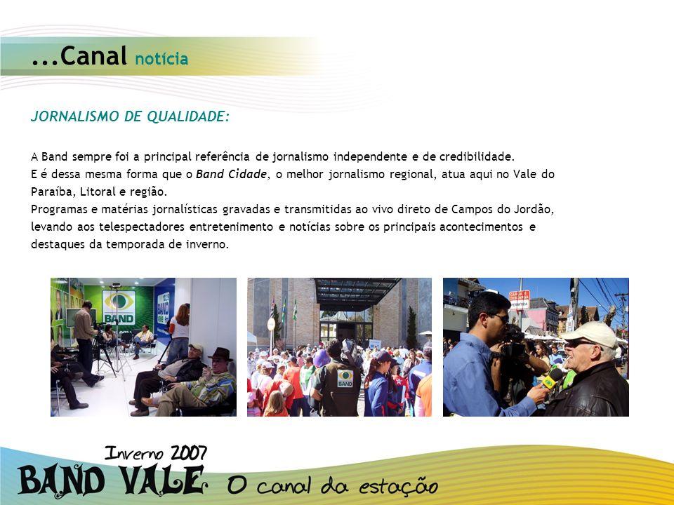 ...Canal notícia JORNALISMO DE QUALIDADE: