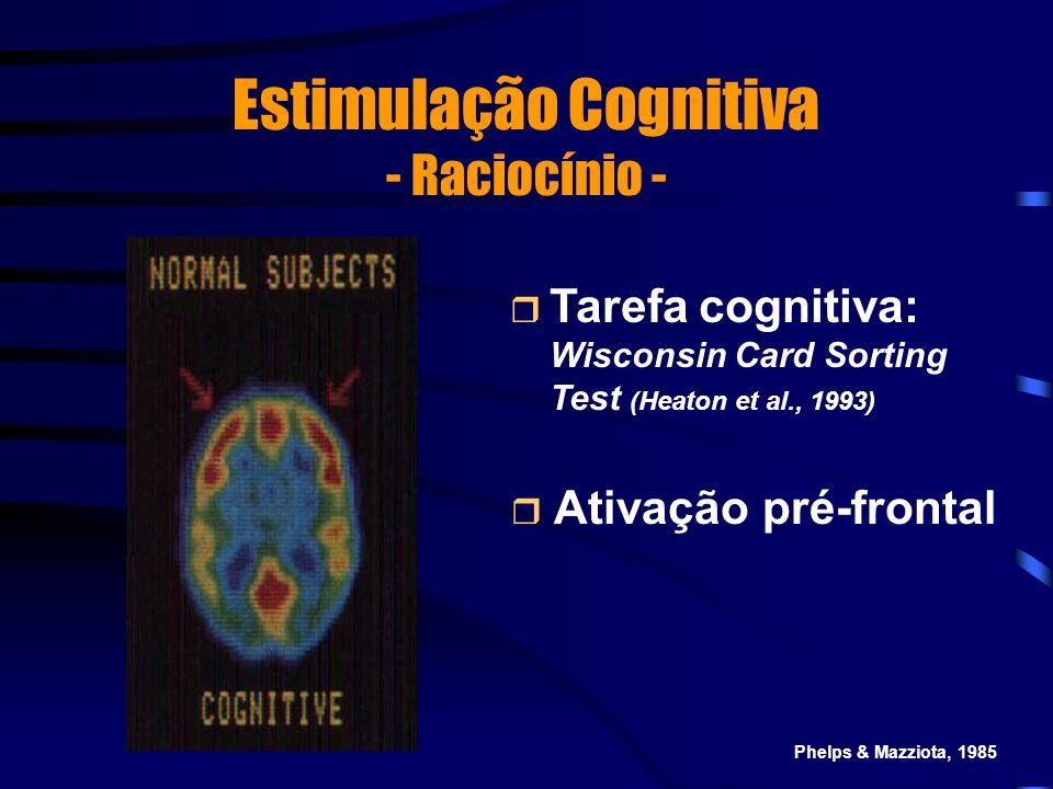 Estimulação Cognitiva - Raciocínio -
