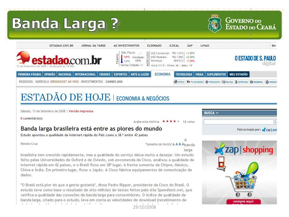 Banda Larga 29/10/2008