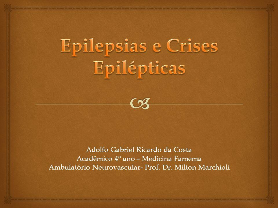 Epilepsias e Crises Epilépticas