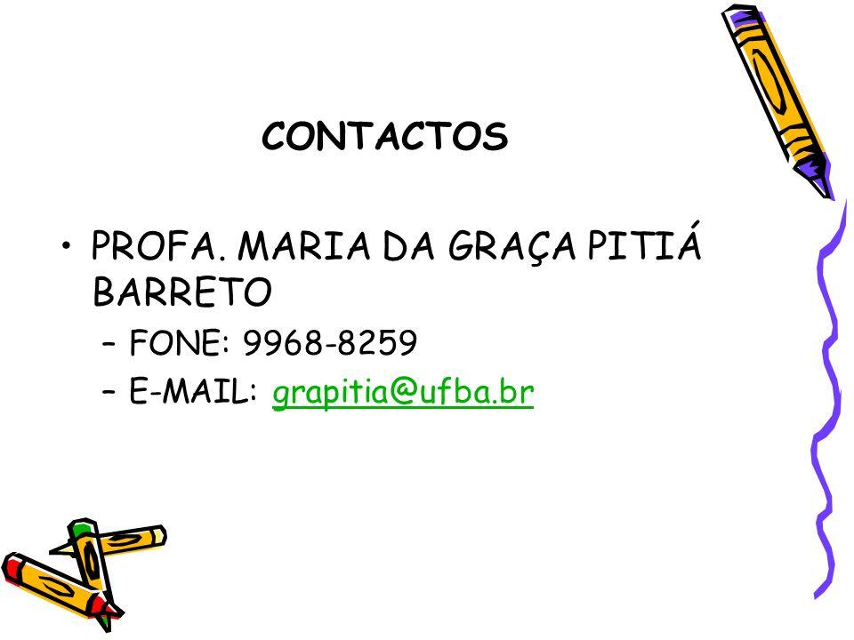 PROFA. MARIA DA GRAÇA PITIÁ BARRETO