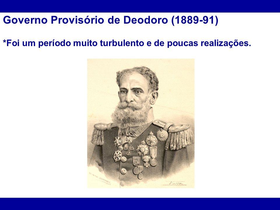 Governo Provisório de Deodoro (1889-91)