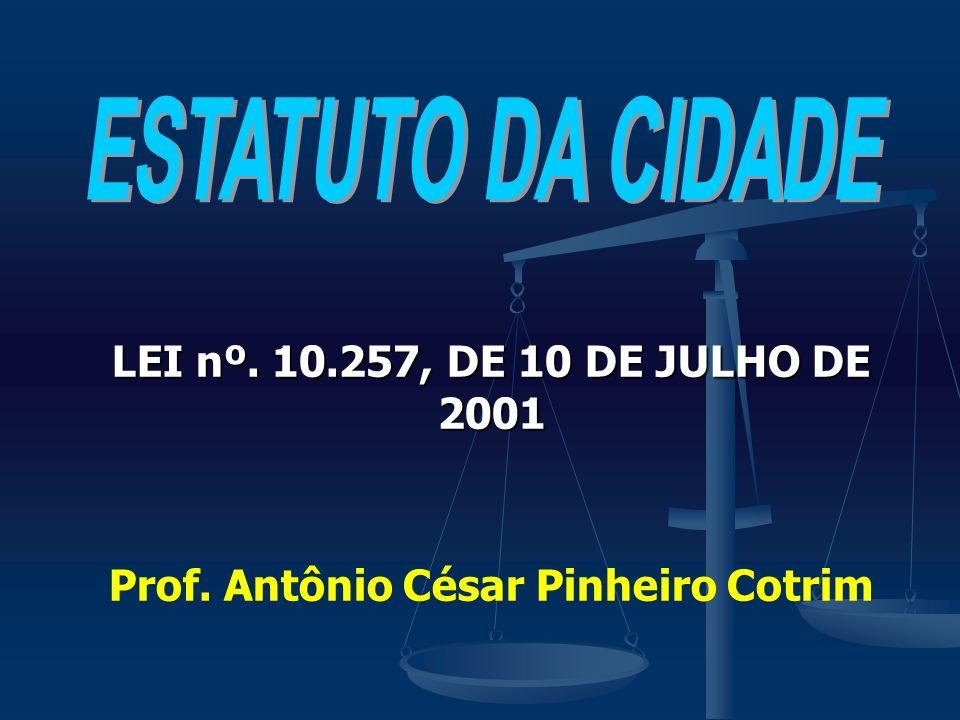 Prof. Antônio César Pinheiro Cotrim