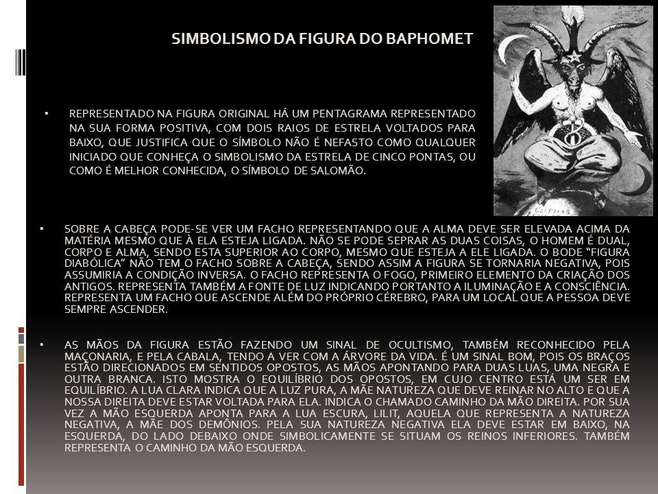 SIMBOLISMO DA FIGURA DO BAPHOMET